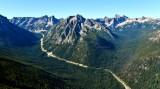 North Cascades Highway, Hinkhouse Peak, Vasiliki Ridge, Early Winters Spires, Liberty Bell Mountain, Washington Pass, Cutthroat