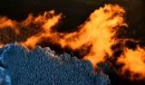 Flaming Sunset on Mt Si, North Bend, Washington 1251
