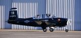 N617KG, The Saucer Chaser, Mentor T-34B, Flight Center, Seattle, Washington 056