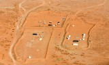 Tents in Saudi Desert, Ath Thumamah National Park, Saudi Arabia 1048