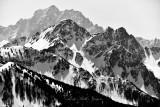 Eastern Cascade Mountains and Mount Stuart Range, Washington