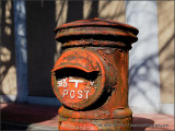 Old Japanese Post Box