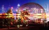 Montreal Biosphere Building Photo Montage