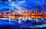 Montreal City Sky Photo Montage