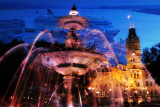 Quebec Parliament Photo Montage