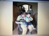 Avec son arriere petit fils