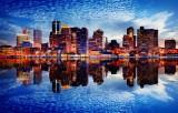 Boston Water Reflection