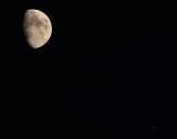 Conjunctions of the Moon and Jupiter