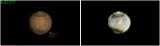 Mars with JPL Simulation Chart - 20120314 @ 04:29 UT