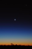 Friday the 13th (2020) Alignment of Mercury and Venus, with the Moon