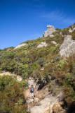 18 Hiker on Saratoga Gap Trail