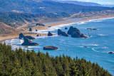 From the summit of Cape Sebastian, Oregon