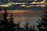 A calm, uncharacteristic Pacific Ocean