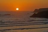 Sunset over Whaleshead Beach, Samuel Boardman State Scenic Corridor