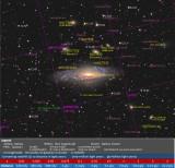 NGC 7331 Annotation