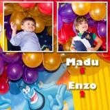 Maria Eduarda e Enzo Wright Cunha