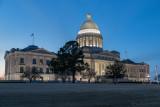 1DX_3402 - Arkansas Capitol at dusk