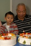 Celebrating Dad's Birthday 2013