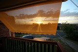 Sunset and new shade blinds - UWA