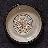 Stephen Pearce Pottery with shamrock
