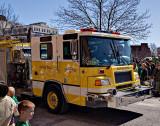 Yellow Fire Engine