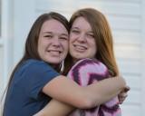 Megan & Jill on Thanksgiving Day 2012