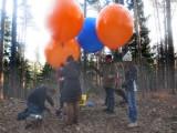 von den vier Ballons