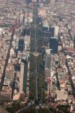 Vista Aerea de la Avenida de la Reforma