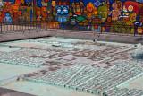 Maqueta de la Ciudad de Tenoxtitlan en el Zocalo