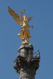 Detalle del Angel de la Independencia