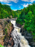 Waterfall Canyon Ste-Anne, Quebec