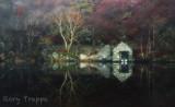 Llyn Dinas boathouse