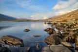 Llynnau Mymbyr with Snowdon in the distance