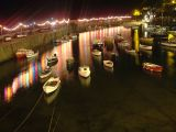 Mousehole at night