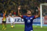 Malaysia's Wan Zack Haikal celebrates