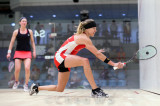 Alison Waters (England) v Kasey Brown (Australia) red/white