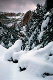Canyon Snowfall