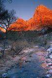 Winter Sunset Glow