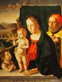 Holy Family with Infant St. John the Baptist, c 1530