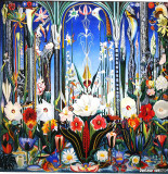 Flowers, Italy, 1931, Joseph Stella