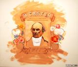 Portrait of Daniel Webster on a Flesh Field #1, 1979