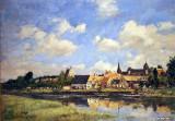 Le vieux port de Touques, 1891