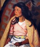 Indian Girl of Santa Clara, 1917