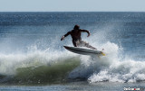 Surfing at Maderas