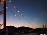 Footbridge over Rio San Juan