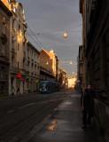 Wet Morning in Zagreb