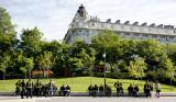Los Bomberos de Madrid en el Paseo del Prado