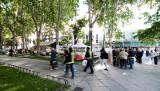 Los Bomberos de Madrid acampan