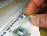 Ein Bleistift-Radiergummi