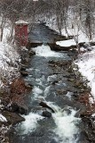 Winter Stream and Rapids